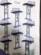 Установка оградок, столов, лавок