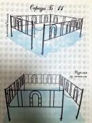 Оградки, столы, скамейки